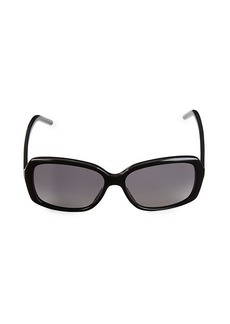 Marc Jacobs 57MM Rectangular Sunglasses