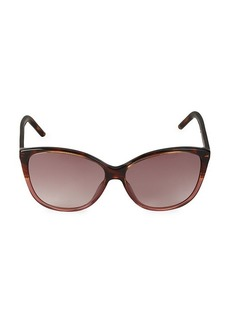 Marc Jacobs 58MM Cat Eye Sunglasses