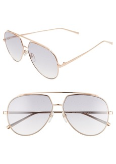 Marc Jacobs 59mm Gradient Aviator Sunglasses