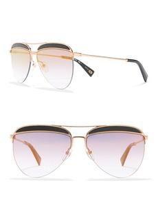 Marc Jacobs 61mm Aviator Sunglasses