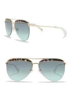 Marc Jacobs 61mm Aviator Sunglasses