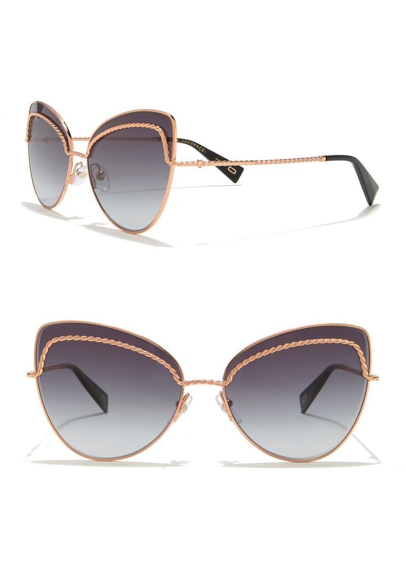 Marc Jacobs 61mm Twist Cat Eye Sunglasses