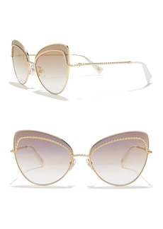 Marc Jacobs 61mm Twist Cat Eye Sunglasses
