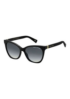 Marc Jacobs Acetate Rectangle Gradient Sunglasses