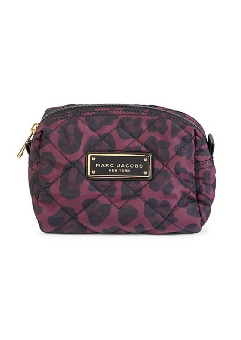 Marc Jacobs Animal-Print Quilted Cosmetic Pouch