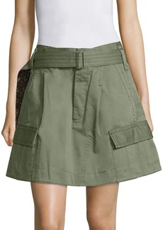 Marc Jacobs Belted Cargo Skirt