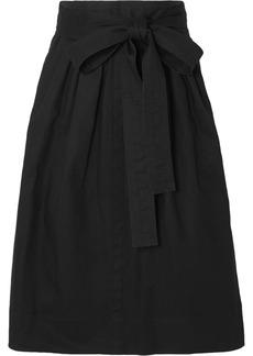 Marc Jacobs Belted Denim Midi Skirt