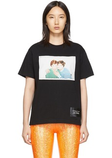 Marc Jacobs Black Juergen Teller & Cindy Sherman Edition 'The Juergen Teller' T-Shirt