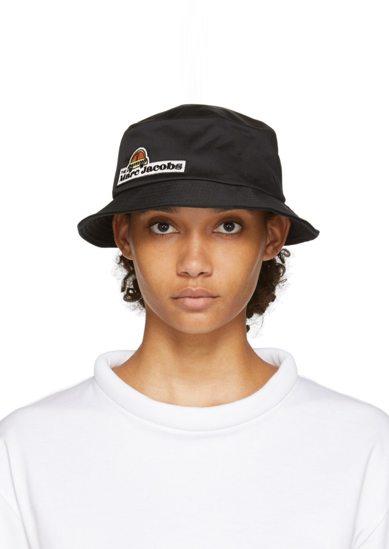 Marc Jacobs Black Logo Bucket Hat