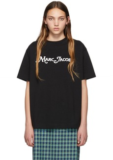 Marc Jacobs Black New York Magazine Edition 'The Logo' T-Shirt