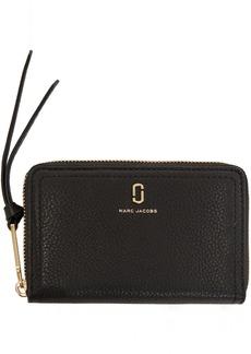 Marc Jacobs Black Small Softshot Standard Wallet