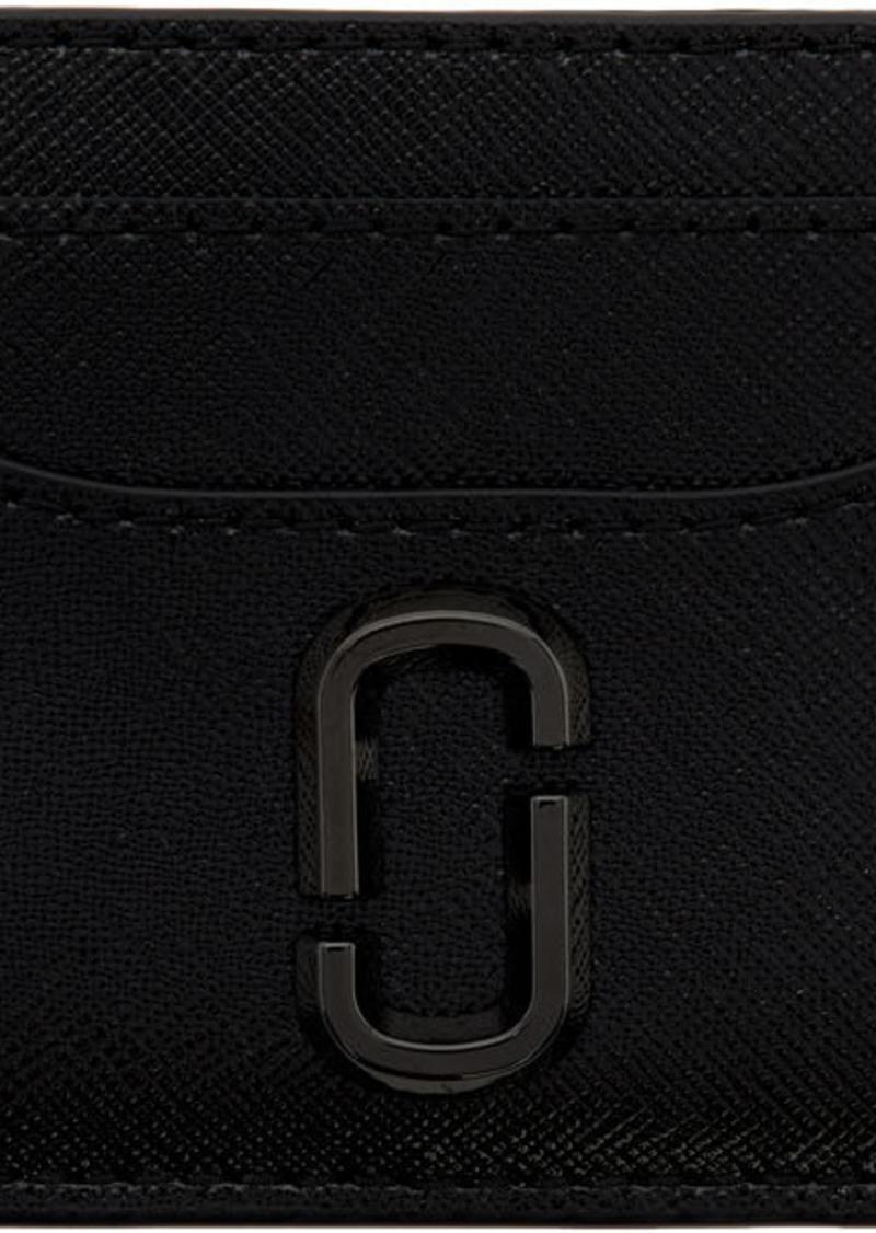 Marc Jacobs Black Snapshot Card Holder