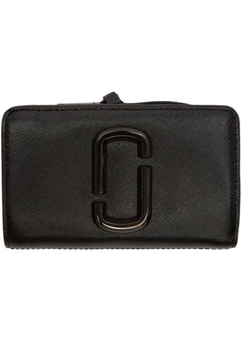 Marc Jacobs Black Snapshot Compact Wallet