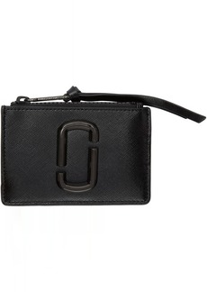 Marc Jacobs Black Snapshot Top Zip Multi Card Holder