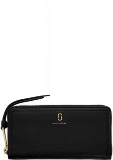 Marc Jacobs Black Softshot Standard Wallet