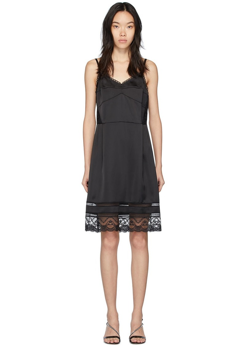 Marc Jacobs Black 'The Liz Slip' Dress