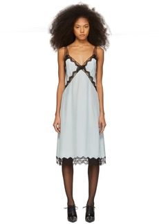 Marc Jacobs Blue Slip Dress