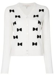 Marc Jacobs bow embroidered cardigan
