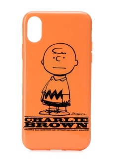 Marc Jacobs Charlie Brown iPhone X cover