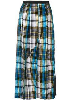 Marc Jacobs check midi skirt