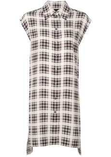 Marc Jacobs checked long shirt