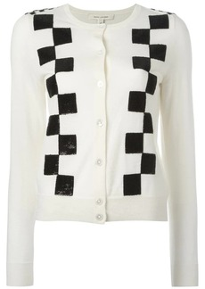 Marc Jacobs classic checkered cardigan