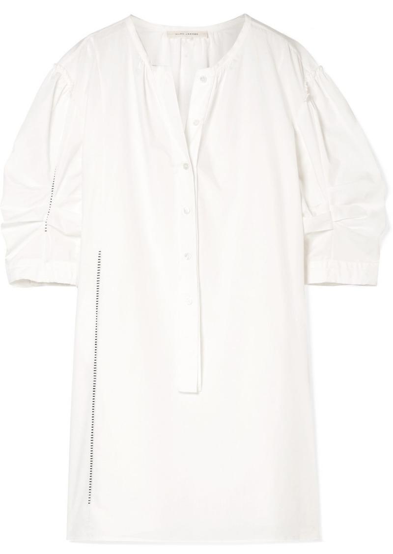 Marc Jacobs Cotton-poplin Mini Dress