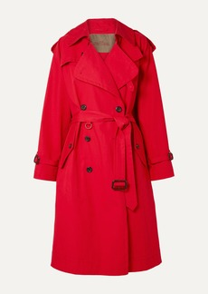 Marc Jacobs Cotton-poplin Trench Coat