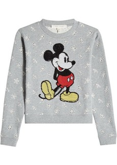 Marc Jacobs Cotton Sweatshirt with Sequin Embellishment