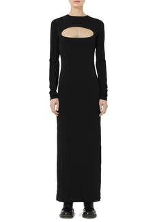 Marc Jacobs Redux Grunge Crepe Jersey Cutout Maxi Dress