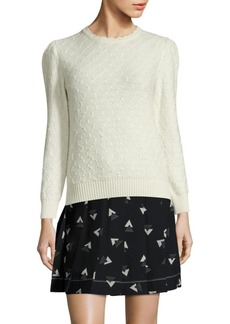 Marc Jacobs Crewneck Textured Sweater