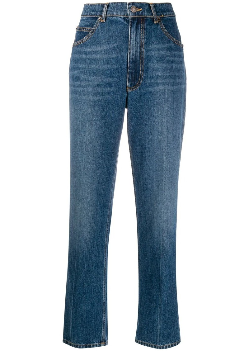 Marc Jacobs cropped denim jeans