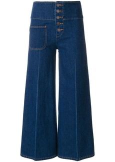 Marc Jacobs cropped high waist trousers