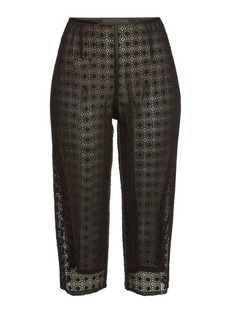 Marc Jacobs Cropped Pants with Silk and Cotton
