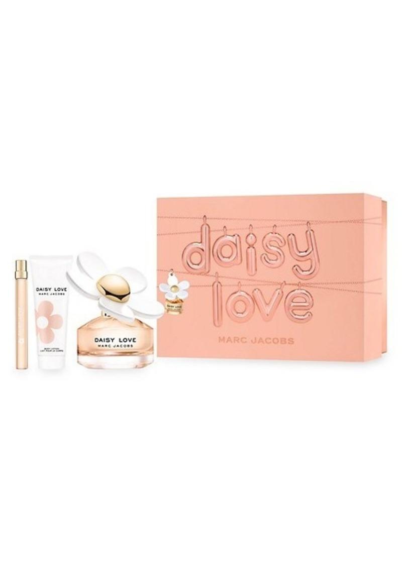 Marc Jacobs Daisy Love 3-Piece Eau De Toilette Gift Set