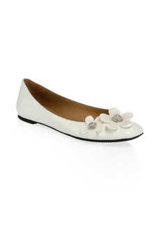 Marc Jacobs Daisy Patent Leather Ballet Flats