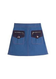 Marc Jacobs Denim Mini Skirt