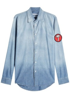 Marc Jacobs Denim Shirt with Arm Patch