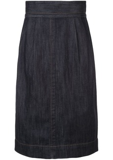 Marc Jacobs denim straight skirt