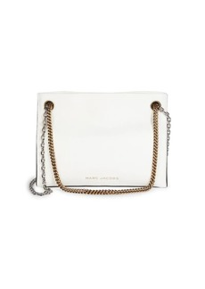 Marc Jacobs Double Link Leather Shoulder Bag