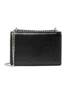 Marc Jacobs Double Take Leather Logo Crossbody Bag