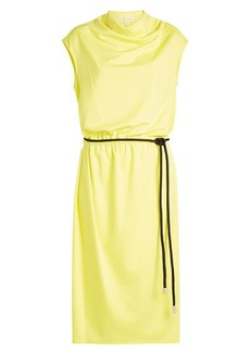 Marc Jacobs Draped Cowl Neck Dress