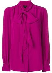 Marc Jacobs draped long-sleeve blouse