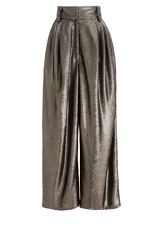 Marc Jacobs Runway Dressy Sequin High-Rise Trousers