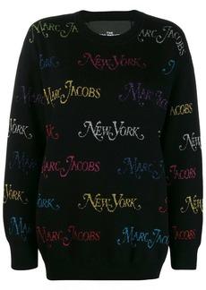 Marc Jacobs x New York Magazine The Logo jumper