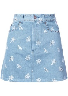 Marc Jacobs embroidered short skirt