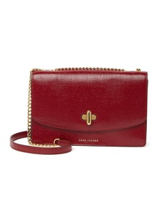 Marc Jacobs Empire City Crosshatch Leather Shoulder Bag