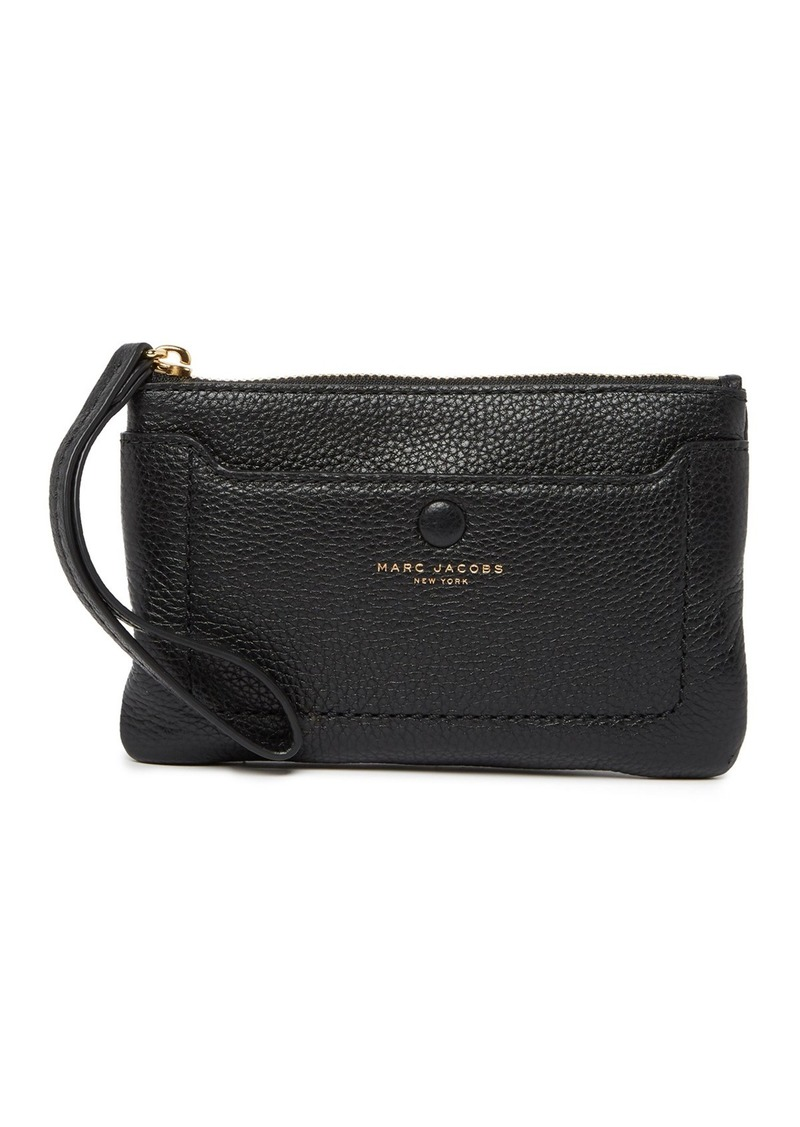 Marc Jacobs Empire City Leather Wristlet