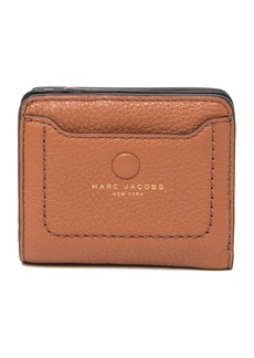 Marc Jacobs Empire City Mini Compact Leather Coin Wallet