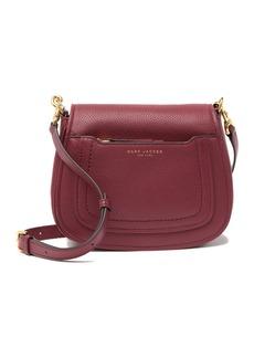 Marc Jacobs Empire City Mini Messenger Leather Crossbody Bag